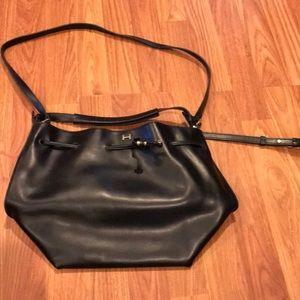 H by Halston black Hobo purse 87a45b846c97f